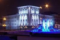 освещение фасадов в Липецке