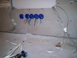 Электромонтажные работы в квартирах новостройках в Липецке. Электромонтаж компанией Русский электрик
