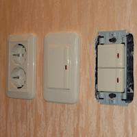 Монтаж, ремонт, замена выключателей Липецк